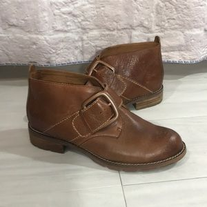Sofft Boone ankle boots, brown, size 6.5